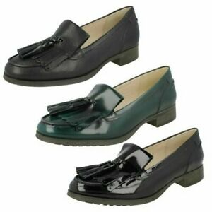Clarks Ladies Smart Loafers Busby Folly