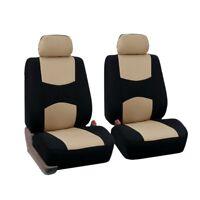 5 Pcs Car Seat Covers Set Universal (Beige) H7R7