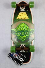 """RARE Santa Cruz Skateboards Star Wars Yoda Cruiser 10"""""""