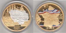 Médaille Française les régions Paris île-de-France