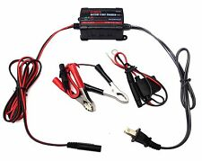 RoyalCraft Battery Maintainer 12V 750mA Automatic Battery Charger Automotive
