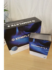 Native Instruments Komplete 9 Boxed with disks & Reaktor 5 full downloed