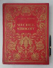 Jules Verne MICHEL STROGOFF-Ill.Henri FAIVRE-Hachette 1934-Armes ville de Paris