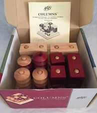 """Columns"" 2-Player Strategy Game, Original Box by PIN"