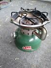 COLEMAN 502 CAMPING BACKPACK STOVE Re-furb USA Made Date (4-74 ) Hot Even Flame photo
