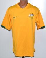 AUSTRALIA NATIONAL TEAM 2006/2007 HOME FOOTBALL SHIRT JERSEY NIKE SIZE L ADULT