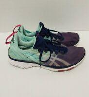 Asics Gel Fit Sana Cross Training Sneakers Blue Aqua Women's Size: 8 #S465N