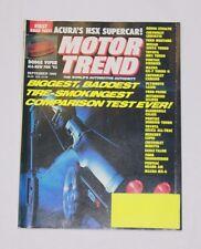 FIRST ROAD TEST MOTOR TREND SEP. 1990 ACURA'S NSX SUPERCAR 9248-1 [LOC.ELK] #1
