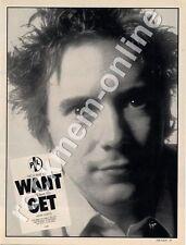 PIL John Lydon Sex Pistols Bad Life 'The Face' '45 advert