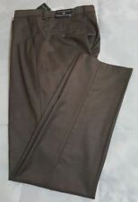 Vroom & Dreesmann Ultimo Tessuto Dress Suit Pants Mens Size 34 Modern Fit Brown