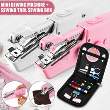 Household Stitch Home Hand Held Sewing Machine Cordless Mini Portable Clothes