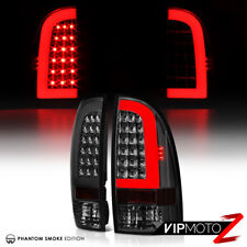 05-15 Toyota Tacoma PickUp Truck Pair Smoke Tinted LED Neon Tube Tail Light Lamp