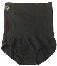 Jockey Generation High Waist Brief Panty Size Medium Stretch Seamless Black C23