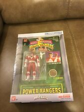 MIGHTY MORPHIN POWER RANGERS - AUTO MORPHIN RED JASON ACTION FIGURE (NEW)