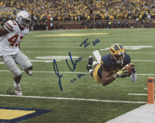 Jehu Chesson Autographed Inscribed 8x10 Photograph - Dive