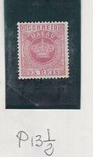 macau 1884/5 Sc 6.perf.13.1/2          q126