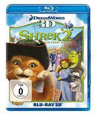 3D Blu-ray * SHREK 2 - DER TOLLKÜHNE HELD KEHRT ZURÜCK + BLU-RAY 2D # NEU OVP +