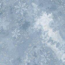 Robert Kaufman/McKenna Ryan Sugar Plum Fabric AYCM-15904-61 PERIWINKLE w/Silver
