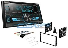 KENWOOD CAR STEREO CD PLAYER SIRIUS XM READY RADIO W USB/AUX INPUTS W DASH KIT