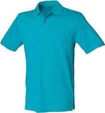 Collared Stretch Casual Polo Shirts for Men