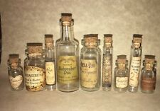Halloween Small Apothecary Potion Bottles For Harry Potter Decorations Prop
