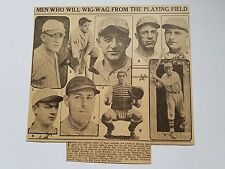 Rogers Hornsby Mickey Cochrane Frankie Frisch Joe Cronin 1934 S News Collage