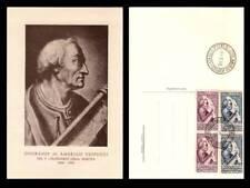 Italia cartolina NO FDC 1955 - V Cent. nascita Amerigo Vespucci - N.V.