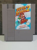 Super Mario Bros. 2 Nintendo Nes Cleaned & Tested Working 100% Authentic!!