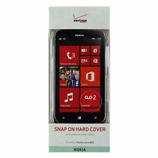 Verizon 2 Piece Snap on Hardshell Case for Nokia Lumia 822 - Clear