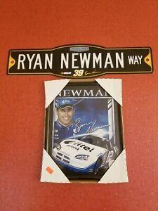 Ryan Newman NASCAR Classic Ryan Newman #36 Picture & Street Sign Fan Gift Set