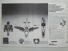 8/1977 PUB NORDEN AIRBORNE SEABORNE SYSTEMS ARMY AIR FORCE NAVY A6E RADAR AD