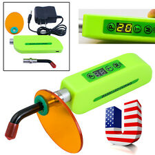 Green Dentist Dental Wireless Cordless LED Curing Light Lamp 1500mw 5W BS300 Tip