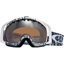 Oakley Crowbar Goggle - Tagline Blue / Black Iridium Lens - Snowboard Ski