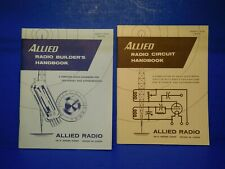 Vintage Instruction Owners Manual - Allied Knight Radio Builders Circuit Book