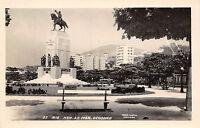 RIO DE JANEIRO BRAZIL MONUMENT GENERAL DEODORO PHOTO POSTCARD c1950s