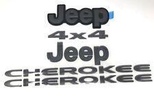 14-18 Jeep Cherokee Complete Nameplate Kit Bade Emblem Set of 5 Factory Mopar