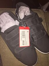 Brand New Tags Mens Slazenger Velcro Shoes Grey Charcoal Summer Shoes