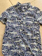 Boys Vineyard vines for Target Sharks short sleeve shirt, size L