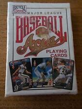 Vintage Pack Playing Cards 1993 US USA BASEBALL ACES Bicycle Sports Collection