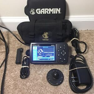 Garmin GPSMAP 296 Aviation GPS with Antenna, Chargers, And Bag