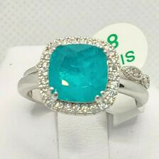 Ring Bomb Party SZ8 Natural Emerald GreenFusion RBP2312 Double Band New tag&bag!