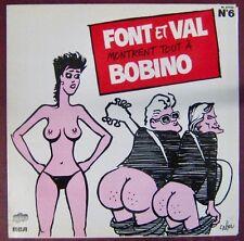 Cabu 33 tours Font et Val montrent tout à Bobino 1982