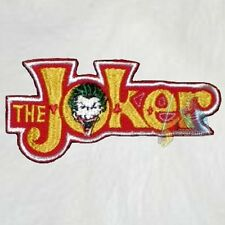 Batman Joker Logo Embroidered Patch Super Powers Robin Jack Nicholson Ledger