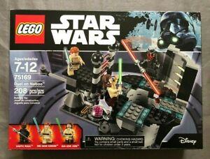 LEGO STAR WARS DUEL ON NABOO SET 75169 BRAND NEW/SEALED QUI-GON JINN RARE!!!
