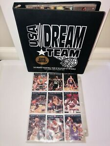 USA DREAM TEAM 1992 Olympic Gold 110 Card Collector Set Basketball  in Sleeves
