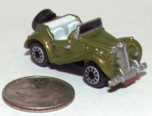 Small Micro Machine MG Convertible in Metallic Green