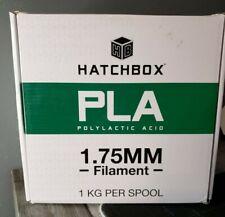 HATCHBOX PLA 3D Printer Filament Dimensional Accuracy +/- 0.03 mm, 1 kg Spool
