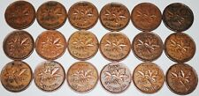 Canada 1937-1952 set George VI 1 Cent 18 Coins