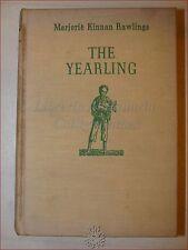 M.K. Rawlings: THE YEARLING 1938 Scribner's IL CUCCIOLO 1st edition Prima Ediz.
