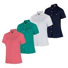 3 X Pack Women's Regatta Jerbra II Short Sleeve Summer Cotton Shirt Top RRP £75